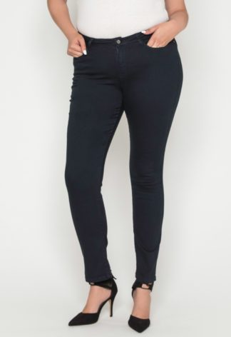 Jeans slim taille haute stretch
