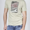T-shirt manches courtes coton RATIO Beige