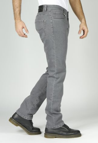 Jeans RL70 coupe droite Gris stretch BARON