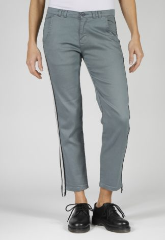 Pantalon chino coupe slim CHADEN Gris