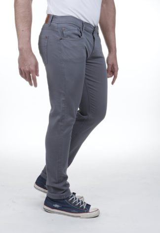 Jeans RL90 stretch slim FALLON Gris