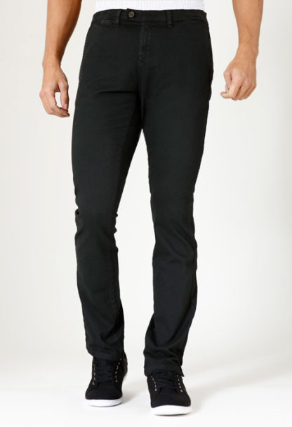 Pantalon chino stretch IAGO Ardoise