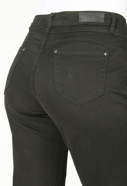 Jeans coupe droite taille haute stretch MARILOU