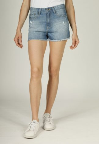 Short coton coupe mom PERLINE