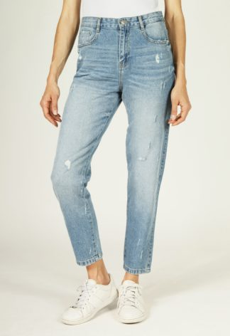 Jeans coupe Mom coton PHOEBE