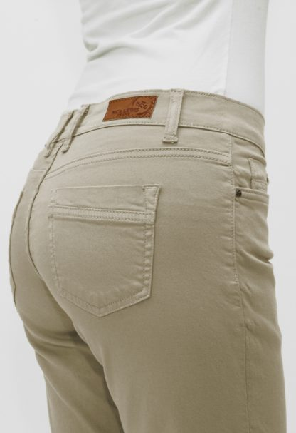 Pantacourt gabardine stretch POEMA Beige