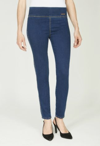 Legging en jeans stretch stonewashed PRUNA