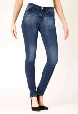 Jeans skinny stretch push up taille moyenne RIBERA