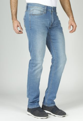 Jeans RL80 stretch coupe droite ajustée super stonewashed SANCHEZ