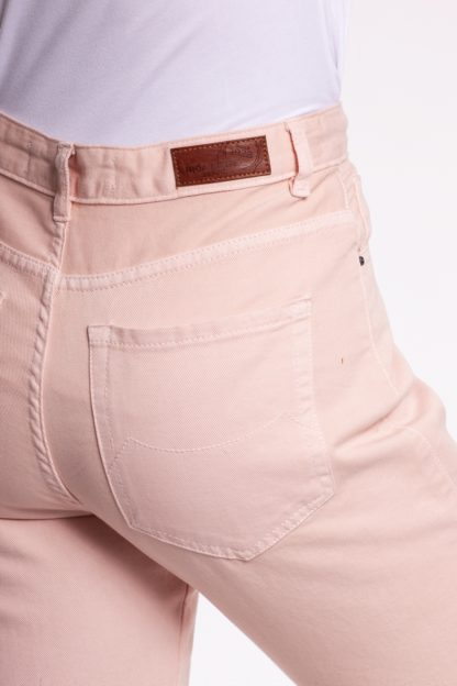 Jeans coupe mom TAVOLA Rose