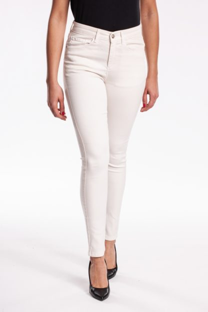 Jean slim push up TOUPY Blanc
